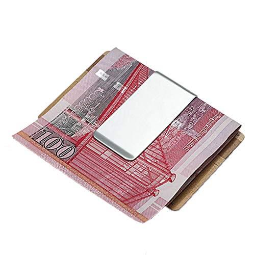 Geldbörsen Brieftasche kreative Persönlichkeit Brieftasche Europa und die Vereinigten Staaten Geld Ordner Business Wallet einfache Änderung Ordner Metall Banknote Clip Damen-Geldbörsen