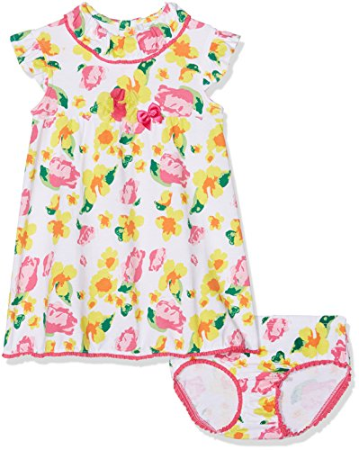Tutto Piccolo 4799S18 Vestido, Multicolor (Multicoulored Xyz), 62 (Tamaño del Fabricante:3.M) para Bebés