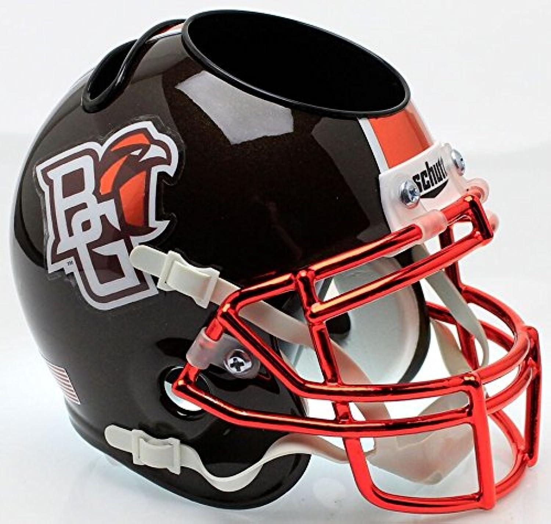 Bowling Green Falcons Miniature Football Helmet Desk Caddy B Chrome Mask B
