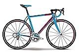 Race 8.20 28 Zoll 30-G Tiagra Modell 2016 Haibike blau/rot/schwarz matt