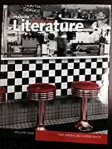 Pearson Common Core Literature the American Experience Volume 1 and 2 Student Edition