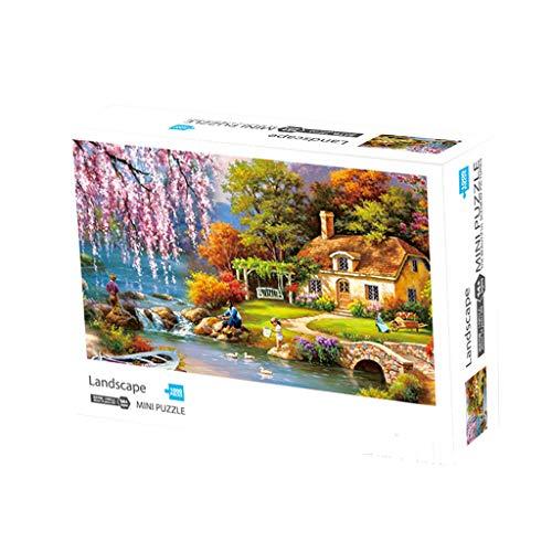 Culater Puzzle per Adulti Gioco Puzzle di 1000 Pezzi Paesaggio Giochi Interessanti...