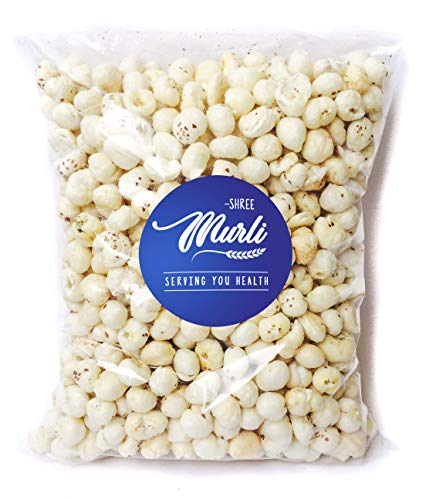 Shree Murli Jumbo Handpicked Lotus Seeds /Fox Nuts Big Size Phool Makhana(Pop / Gorgon Nut Puffed Kernels ) , 250 Grams