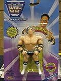 Jakks Pacific WWE Wrestling WWF Bend-Ems Series 5 Rocky Maivia Rubber Figure