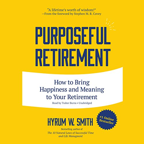 Purposeful Retirement audiobook cover art