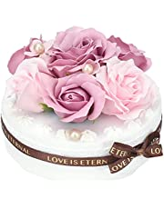 ソープフラワー ケーキ アレンジメント 観賞用 誕生日 記念日 母の日 お祝い ギフト