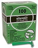 Wilkinson Sword Hospital - Caja Dispensadora de 100 Cuchillas de Afeitar Desechables, Apta para Uso Pre-Operatorio