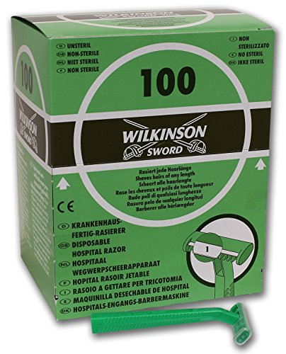 Wilkinson Sword Hospital - Caja Dispensadora de 100