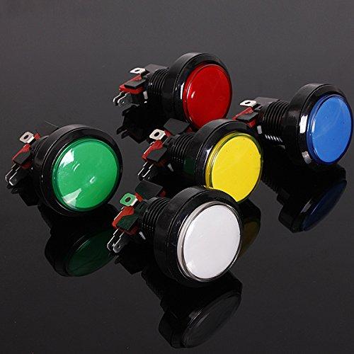 C-FUNN Led-lichtboog, 45 mm, groot, rond, verlicht, Rood