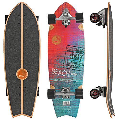 Slide Street Surf Skateboard Sunset Beach 32'