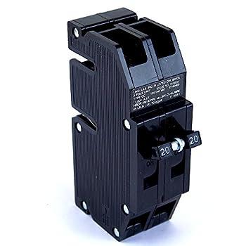 QC-20 Thomas & Betts Circuit Breaker 2 Pole 20 Amp 240V Fits Zinsco/Sylvania