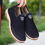 Aerlan Gym Shoes Lightweight Shoes,Zapatillas de Deporte Casuales Masculinas, Zapatos de Fondo Suave al Aire Libre-Blue_40,Botas de montaña Deportivas