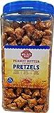 Wellsley Farms Peanut Butter Pretzels, 37 Ounce