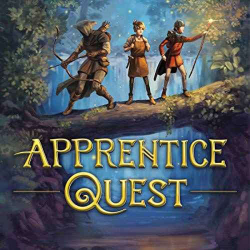 Apprentice Quest Audiobook By Jim Hodgson cover art