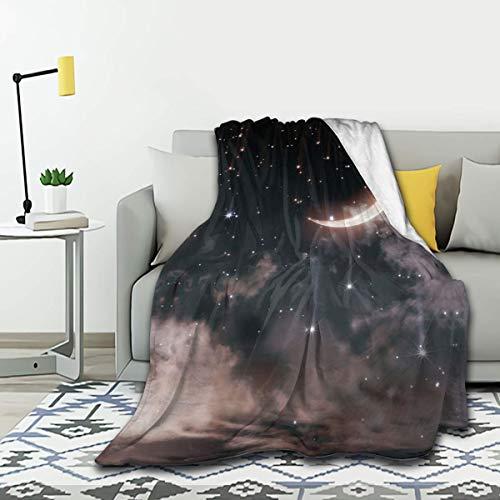 SPIRITFREE Manta de franela ligera y acogedora para sofá, cama de felpa, 152 x 150 cm, para adolescentes