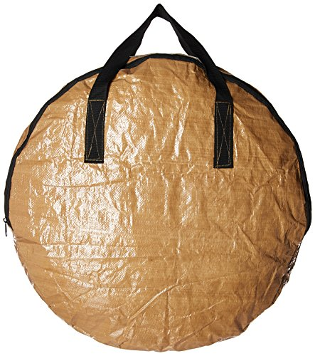 BenefitUSA Heavy Duty Christmas Wreath Storage Bag (Tan, for 24-Inch Wreaths)