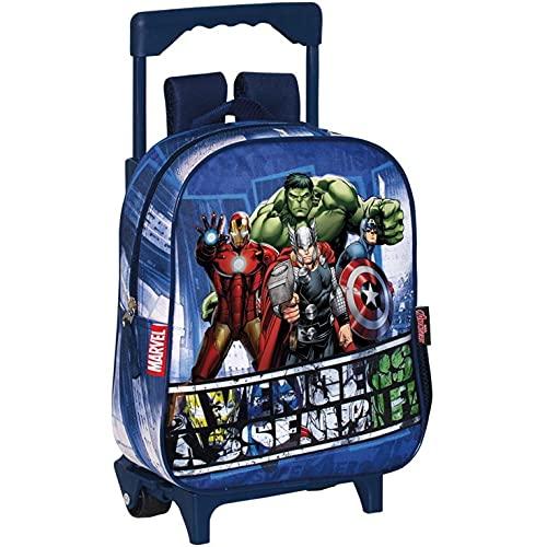 PERONA BAGS Mochila con ruedas de Avengers