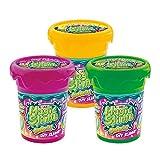 CRAZE Magic Slime Shake It 3 Set di 3 Slime per Bambini con Glitter Multicolore, per Fai da Te, 31001