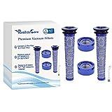 Rebirthcare 2 Stück Vorfilter + 2 HEPA-Nachfilter-Kit für