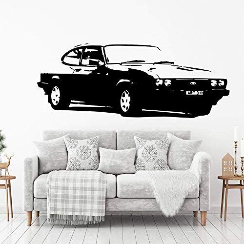 Tianpengyuanshuai Kreative wasserdichte Wandaufkleber für Autos abnehmbare Wandaufkleber 42X108cm