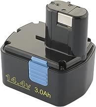 Bateria Ni-MH 3000mAh 14,4V para Hitachi DS14DVB DS14DVB WR14DMR DH 20DV DS 14DAF2 DS 14DMR DS 14DV DS 14DVA DS 14DVB DS 14DVB2 DS 14DVB2K DS 14DVF DS 14DVF2 DS 14DVF3 DS14DFL DS14DFLPC DS14DL