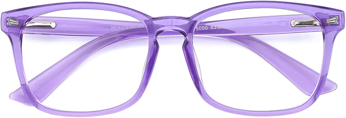 Mimoeye 2 Pack/1 Pack Oversized Blue Light Blocking Glasses Anti