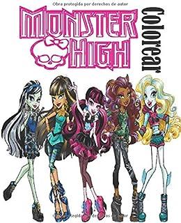 Monster High Colorear: monster high para colorear,  libro para colorear para niños, dibujos para colorear de monster high, monster high para pintar,imagenes de monster high para colorear.
