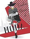 Cuaderno Diseño de moda: Cuaderno de practica para dibujar bocetos de moda para niñas y adolescentes I 200 páginas - 8,5 * 11 en I