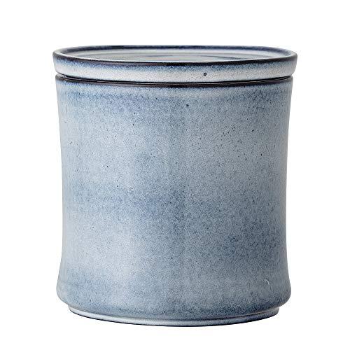 Bloomingville Behälter mit Deckel Sandrine, blau, Keramik