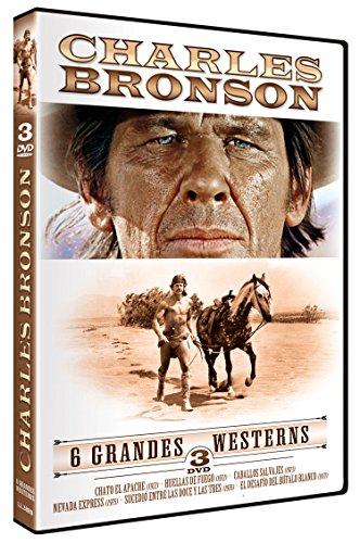 Recopilatorio Charles Bronson: Chato el Apache + Huellas de Fuego + Caballos...