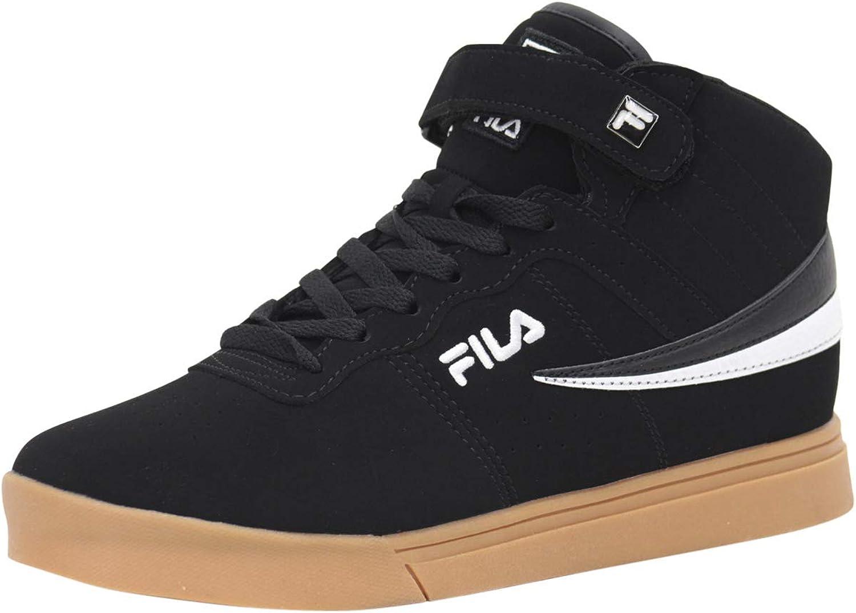 Fila Men's Vulc-13-MP Black White Gum Sneakers shoes