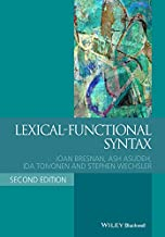 Lexical-Functional Syntax (Blackwell Textbooks in Linguistics Book 16)