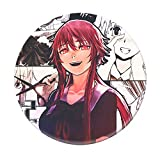 Mini Office Depot Anime japonés Mirai Nikki Broche Badge Set, Pin de botón de Dibujos Animados Accesorios para Ropa Sombrero Mochila Decoración(Style 36)