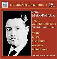 ジョン・マコーマック The Acoustic Recordings Vol.4 1913-1914