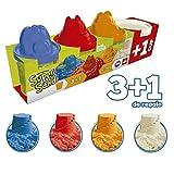 Goliath- Super Sand Botes 3+1 - Arena mágica, colores (83790.012) ,...