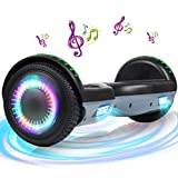 """SISGAD Hoverboard, 6.5"""""""" Two Wheel Self Balancing Electric Scooter, with Safety Certified, Great Gift for Boys and Girls - Best Reviews Guide"""