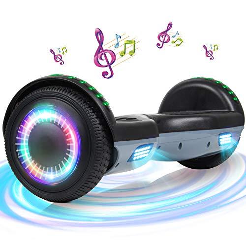 SISGAD - Hoverboard elettrico con ruote da 6,5