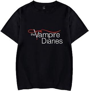 Women's The Vampire Diaries T-Shirt Vampire Diaries Theme Tee Casual Crew Neck Short Sleeve Tops Tee