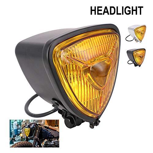 Faro Universal Triangular de Motocicleta – 12 V de luz de Cruce...