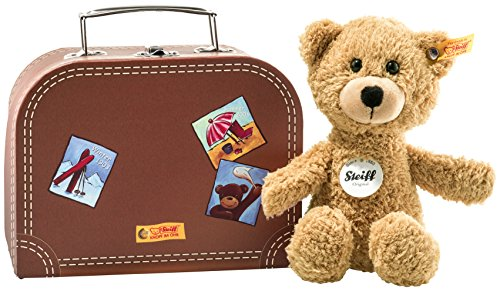Steiff 113390 Teddyb.Sunny im Koffer, Beige