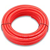 Welugnal 4 Gauge 26ft Red Power/Ground Wire True Spec and Soft Touch Cable for Car Amplifier Automotive Trailer Harness Wiring