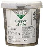 Capperi al sale Mezzanella Calibro 13 Secchiello da 1 Kg Puntine di capperi coperte di sale