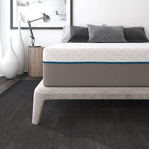 Signature Sleep Flex 12' Charcoal Gel Memory Foam Mattress - Queen