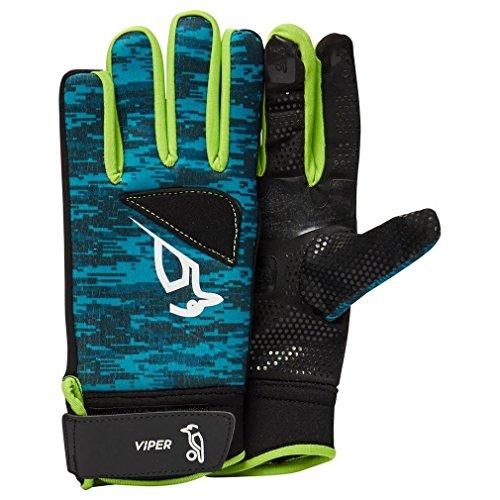 Kookaburra Unisex's Viper Hockey Handschoenen, Turkoois, Groot