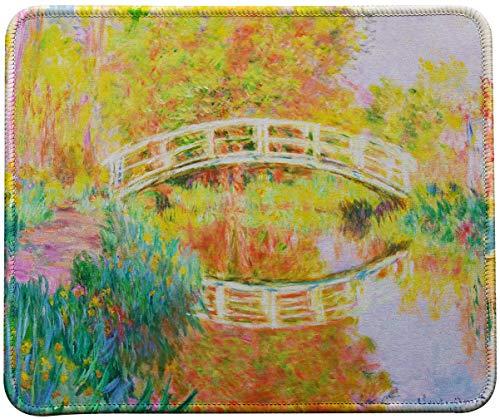 VIVIPOW Mauspad Claude Monet Gemälde, Japanische Brücke, 9.5