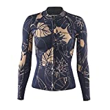 Patagonia R1 Lite Yulex L/S Camiseta, Mujer, Negro, 2