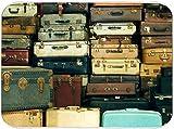 CONICIXI Alfombrilla de Secado de Platos Un montón de maletas antiguas y antiguas Cocina Almohadilla de Microfibra Seca...