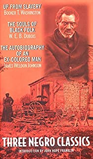 """""""Up from Slavery"""" by Booker T.Washington, """"The Souls of Black Folk"""" by W.E.B.Du Bois, """"An Autobiography of an Ex-colored M..."""