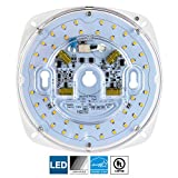 Sunlite LED Retrofit Light Engine, 5.5-Inch, 5000K Super White, 23 Watt, Dimmable, Flush Ceiling Fixture LED Upgrade Panel, Energy Star Compliant, Commercial Grade, 90 CRI