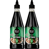 Premium Dark Soy Sauce Lite and Low Sodium | 2 Bottles of Dark Soy Sauce 23.65oz Real Authentic...